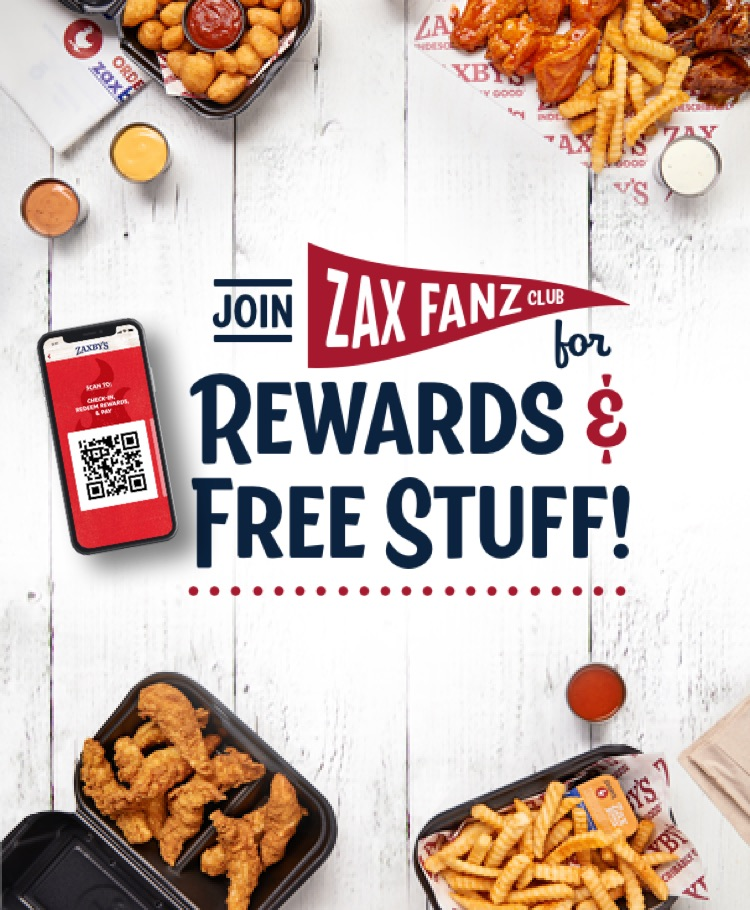 Join Zax Fanz Club for Rewards and Free Stuff